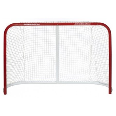 "Winnwell Proform Hockey Net 72"" W/ 2"" Posts & Quiknet Mesh Ice, Inline or Street Hockey Net, FULL SIZE Hockey Goal"