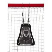 ,Winnwell Metal Shooting bell Target Skills Targets, Hockey Net Target, Ice Hockey Skills Training
