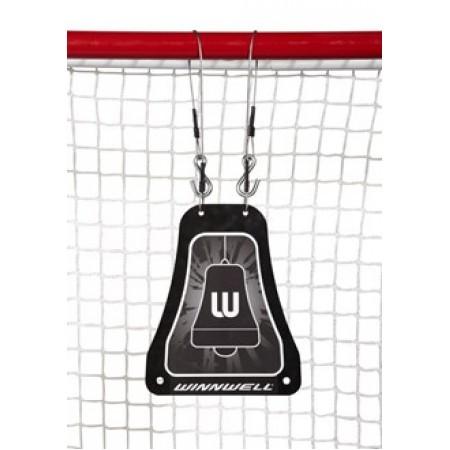 Winnwell Metal Shooting  bell Target, Skills Targets, Hockey Net Target, Ice Hockey Skills Training