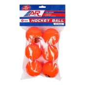 A&R All Temperature, Street Hockey Balls, Roller Hockey Balls 6 PACK