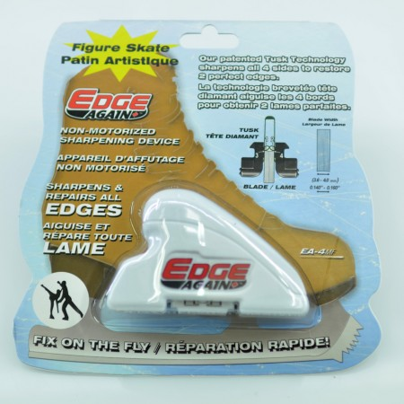 Sharpen Skates, Ice Hockey or Figure Skates | Edge Again - FIGURE Skate Sharpener EA-4MF