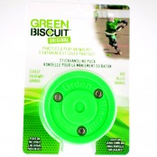 Green Biscuit Original Puck, Street Hockey Puck, Biscuit, Street Puck