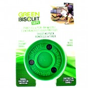 Green Biscuit SNIPE Puck, Street Hockey Puck, Biscuit, Street SHOOTING Puck