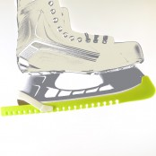 Skate Guards, Blade Guards for Hockey and Figure Skates, LIGHT GREEN