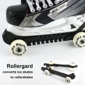 ROLLERGARD, ice skate guards with wheels, Roller Guard skate wheels