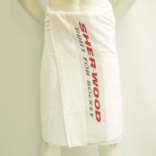 Sher-Wood, Sports Towel, Hockey Towel, 70 x 140 cm, Ice Hockey Towel, White Towel