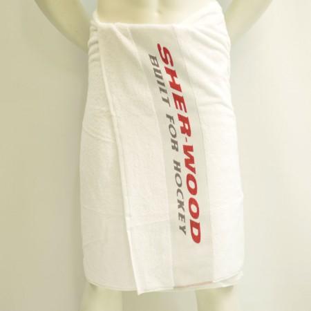 Sweats   Sher-Wood, Sports Towel, Hockey Towel, 70 x 140 cm, Ice Hockey Towel, White Towel