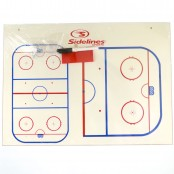 HALF RINK Jumbo Board, Ice Rink White Board