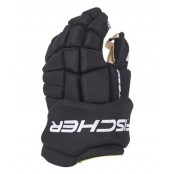 FISCHER CT950 JUNIOR and Senior Ice Hockey Gloves BLACK-RED-BLUE