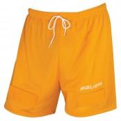 BAUER Core Mesh Jock Short & Jock - Ice Hockey Mesh Short with Cup (yellow)
