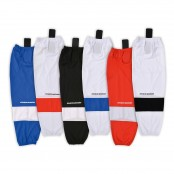 NEW - Stretch Mesh Ice Hockey Socks with Velcro holdups, Inline Hockey Socks