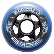 "BASE Outdoor Wheel ""Rage II"" 83A - 4pcs Pack, inline skate wheels"