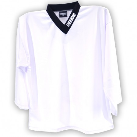 WHITE, Hockey Training Jersey, Ice Hockey Shirt, Training Top, Sports Jerseys