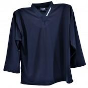 BLACK - Hockey Training Jersey, Ice Hockey Shirt, Training Top, Sports Jerseys