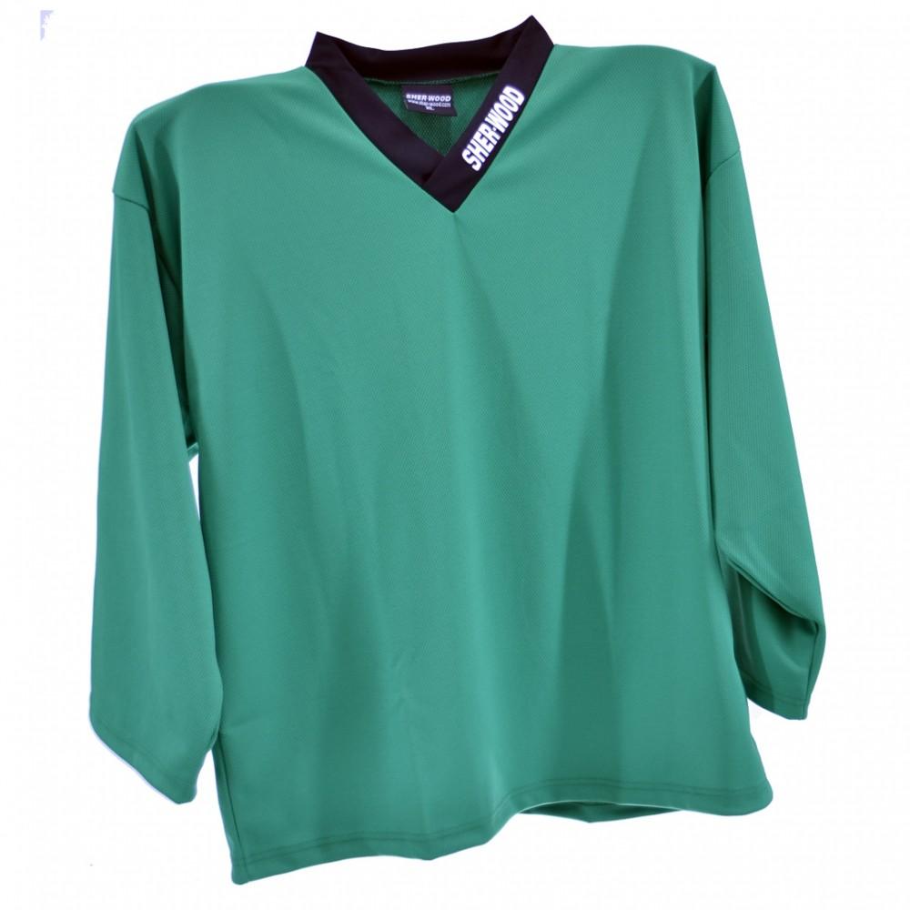 4ff2f3e9e446e5 GREEN - Hockey Training Jersey, Ice Hockey Shirt, Training Top ...