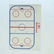Hockey Coach Clipboard, Rink White Board, A4 Clipboard