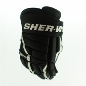 Sher-Wood T90 PRO Hockey Glove (Black / White)