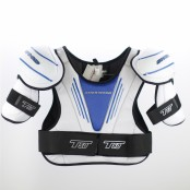 T50 Shoulder Pads (Blue & Black), Hockey Shoulder Pads