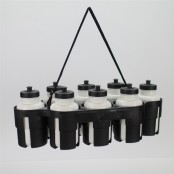 Moulded Water Bottle Carrier, 8 x 1 Litre Bottle Holder