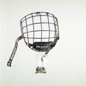 Hockey Face Cage, Wire Cage, BLACK Cage, Junior & Senior