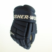 SHER-WOOD T90 PRO Ice Hockey Glove (NAVY)