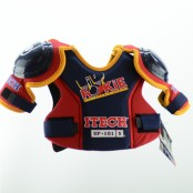 Itech ROOKIE SP101 Shoulder Pads , Youth Size 6-8 years