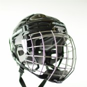 BAUER Helmet IMS 5.0 Combo,  Ice Hockey Helmet and Mask (cage)