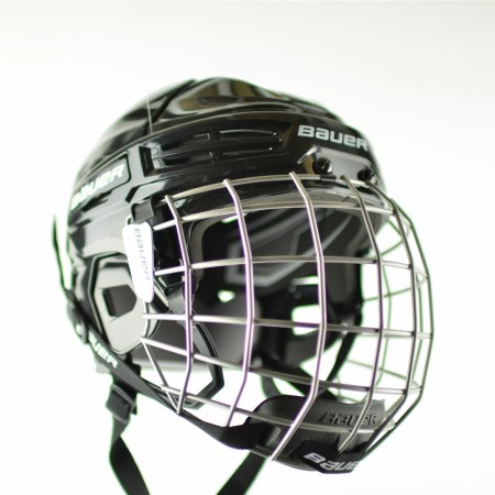 BAUER Helmet IMS 5.0 Combo, Junior Ice Hockey Helmet and Mask (cage)