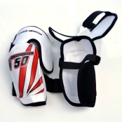 Sherwood T50 Elbow Pad (Red), Ice Hockey Elbow Pads