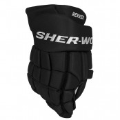 Sher-Wood EK9 ICE HOCKEY GLOVES, Black