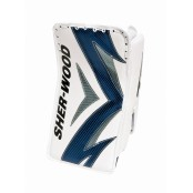 Sherwood T90 Blocker White Navy Silver Senior