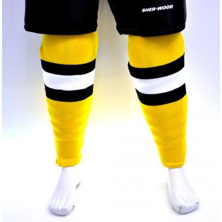 Sweats | Sherwood Hockey Socks - Boston Bruins Yellow
