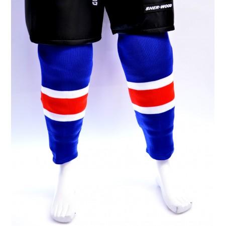 Sweats | Sherwood Hockey Socks - New York Rangers Blue