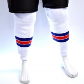 Sherwood Hockey Socks - New York Rangers White