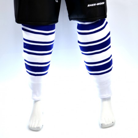Sweats | Sherwood Hockey Socks - Toronto Maple Leafs White
