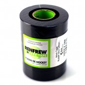 NEW XT GREENCORE - Renfrew Black cloth stick tape x 5 rolls, Hockey Tape