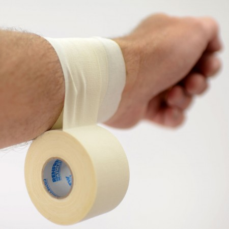 Trainers Cloth Tape, 38 mm wide White Athletics Tape