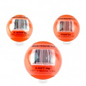 Street Hockey Ball, 50g, 65mm, Soft /Medium /Hard Orange Hockey Ball