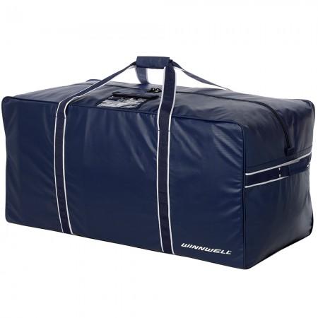 BLUE - PRO-STOCK TEAM BAG, Tough Ice Hockey Equipment Kit Bag, Winnwell