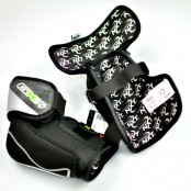 Winnwell GX4 Elbow Pad, Lime & Black, ice hockey elbow pads
