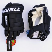 Winnwell Pro-Stock LITE Glove BLACK, Pro Ice Hockey Gloves