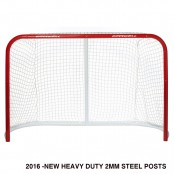 "72"" Heavy Duty Hockey Net, Ice, Inline or Street Hockey Net, FULL SIZE Hockey Goal"