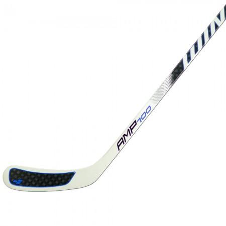 Winnwell AMP 700 Semi Pro Ice Hockey Stick, 12K Weave Composite